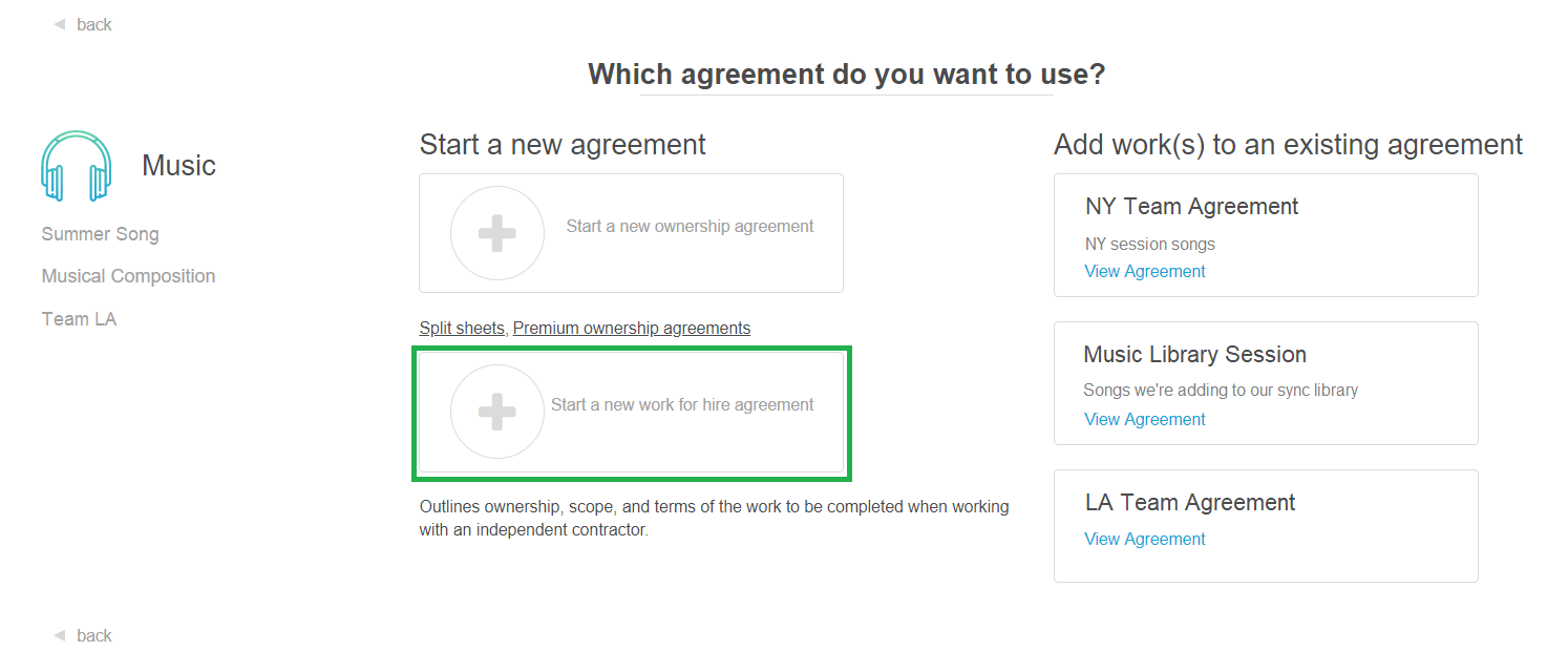 How To Create A Work For Hire Agreement Cosynd